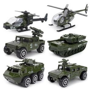 Explosive Legierung Kit 1:87 Mini Brandschutz Militärpolizei Legierung Auto Modell Kinder Tasche Spielzeug Großhandel