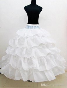 New Style Tiered Cascading Ruffles Ball Gown Bridal Petticoat for Wedding Dresses Underskirt Women Party Gowns Slip