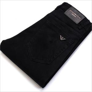 631 AJ-Jeans Primavera Outono Calças exteriores grossas calças calças jeans stretch calças de algodão casuais negócios folgas
