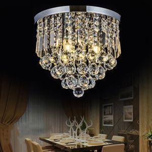 Plafoniera di cristallo a LED moderna corridoio / portico / corridoio / loft / camera da letto / sala da pranzo / sala lustro di cristallo lustro home decor lampade a soffitto