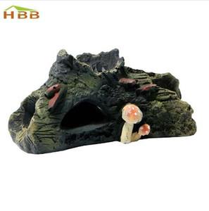 S- المنزل حار بيع الحوض الديكور جذع بولي كهف driftwood لخزان راتنج زخرفة MAR9