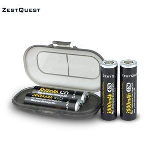 100% auténtico Zest Quest ZQ 18650 INR 3.7V 3000mAh Capacidad 40A Batería recargable de iones de litio 18650 21700 Batería Vape