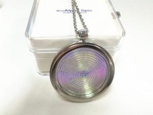 AlphaSpin Mini Bio Disc Pendant ألفا سبين عددي توازن الطاقة الجسم 2018 أحدث المنتجات الصحية الكم الطاقة العددية