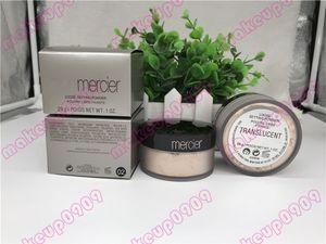 Translúcido Ajuste Sólido Polvo Facial Impermeable Hidratante de Larga Duración Polvo Suelto Maquiagem 3 Colores 29 g Tamaño completo 1 unids
