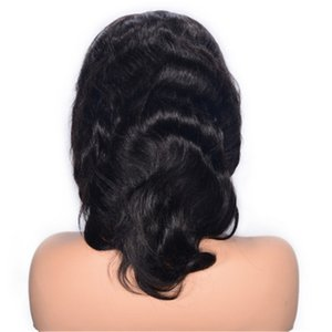 Malaysian Virgin Hair Wavy Wigs Lace Front Human Hair Wigs with Baby Hair Glueless Cheap Women Lace Wigs