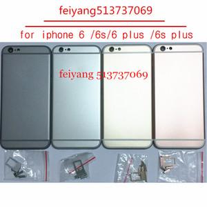 10pcs posteriore coperchio vano batteria telaio porta telaio centrale per iPhone 6 6s 6 plud 6s più alloggiamento coperchio posteriore
