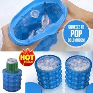 Hot Sale2018 New Espace Saving Ice Cubes Maker Outils de cuisine Irlde Ice Cream Tubs Bouteilles de boisson Dropshipping Holder
