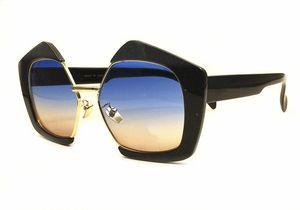 Знаменитости звезда прилив бренд дамы солнцезащитные очки открытый модный СМУ популярная личность большая половина кадра женщины очки поставляются с оригинальной коробке