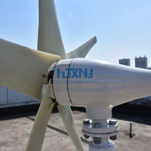 حار بيع! 600 واط 12 فولت 24 فولت توربينات الرياح مراوح الرياح لنظام الهجين الشمسية الرياح مع تحكم