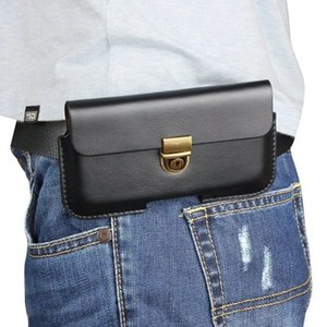 Caso de capa de bolsa de cinto de couro PU universal para LG Aristo / Phoenix 2 / Phoenix 3
