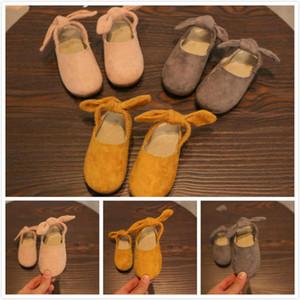 Горячие продажи новых 5 размеров много весна осень довольно Принцесса элегантный удобные кожаные танцы один мягкий резиновый балетные туфли для девочек
