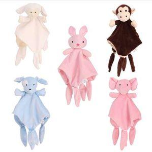 Soft Baby Spielzeug 0-12 Monate Besänftigen Handtuch Beruhigen Schlafen Tier Kuscheltuch Pädagogische Baby Rasseln Mobiles Kinderwagen Spielzeug