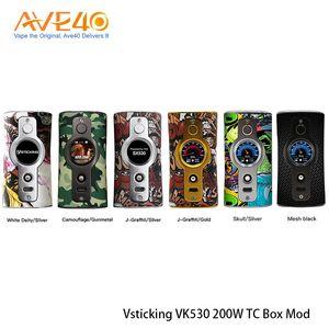 Orijinal Vsticking VK530 200 W Kutusu Mod YiHi SX530 Çip Çift 18650 Pil Powered By güç kontrolü