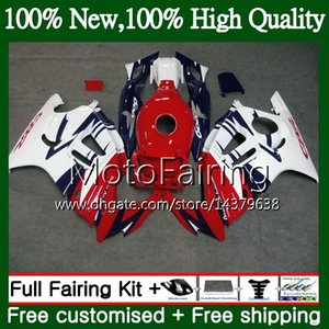 Body for HONDA Hot CBR600RR F3 CBR600FS CBR 600 F3 97 98 48MF22 CBR 600F3 FS Red white CBR600F3 CBR600 F3 1997 1998 Fairing Bodywork kit