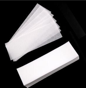 Big discount 100pcs Lot Professional Wax Waxing Strips Hair Removal Paper Nonwoven Epilator DHL Free shipping