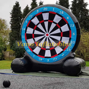 Football Dart Inflatable 3m 4m 5m 6m Commercial Inflatable Darts Football Board Sports Games with Blower Free Shipping