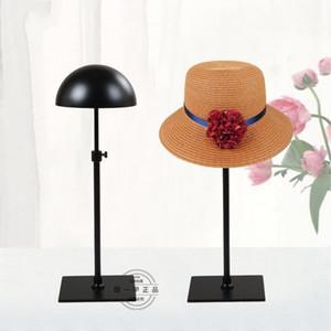 Suporte de Metal Hat Display Rack Resistente Resistente Prático Titular Cap Perucas Para Queda Stand Salvar Mais Espaço 52cs ZZ