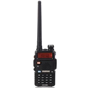 """BAOFENG 1.5 """"LCD 5W Talkie-walkie double bande 136 ~ 174MHz / 400 ~ 470MHz avec lampe de poche à 1 LED (Noir)"""