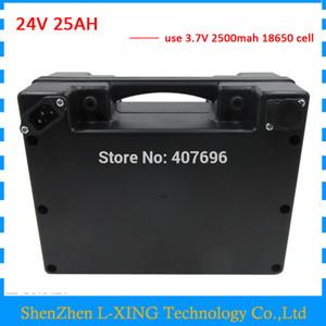 Бесплатная таможенная пошлина 24V 25AH литий-ионная аккумуляторная батарея 24 V 25AH электрическая велосипедная батарея с водонепроницаемым корпусом 30A BMS с зарядным устройством 3A