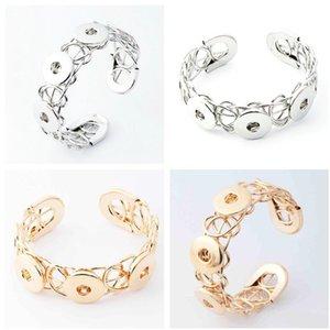 NOOSA Metal Snap Button Charm Bracelet Joyería Intercambiable Ginger Snaps Jewelry Moda DIY joyería para mujeres