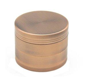 새로운 4 수준 아연 합금 담배 라이터 50MM 직경 청동 색 연삭 기계.