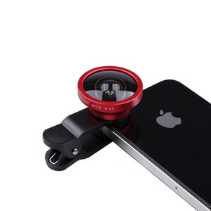 180 Degree 0.4x Super Wide angle lens clip lens For iPhone 5 6 7 7P 8 X Samsung Galaxy S9 S8 S7