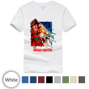 Fashion Street T-shirt, il sogno Maestro Freddy Krueger di cotone stampato T-shirt.