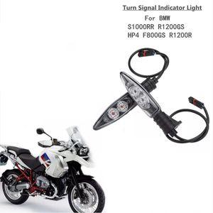 Motosiklet Ön Dönüş Sinyalleri Işık Shift LED Flaşör Göstergesi Flaşör Işıkları BMW R1200GS ADVENTURE R800GS F800R K1200R