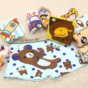Liberi la nave Cute Cartoon Monkey Cotton Slip per neonati Intimo 1-10T Boys Underpants Kids Slip modale Intimo Sport boxer per bambini, MK06