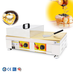 Büyük boy bakır plaka sufle makinesi satılık dorayaki makinesi ticari gözleme yapımcısı pan popüler aperatif ekipmanları