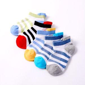 2018 New Spring Summer Bambini Maglia Calze colorate a forma di calze da bambino Calze invisibili Short Tube Extension Matsuguchi Sock