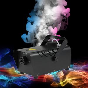 2017 Nuovo arrivo Portatile Fog Smoke Machine Wired Remote Control 400 W per Halloween Wedding Funzione Home Party Club Pub Holiday