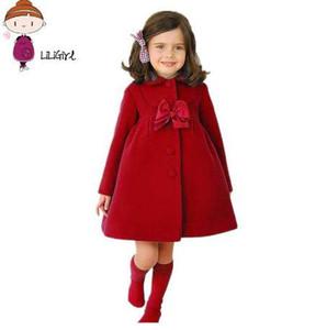 Manteau de bébé nouveau manteau d'automne hiver enfants manteau long bébé fille chaud vêtements d'extérieur manteaux manteau de cachemire survêtement chaud