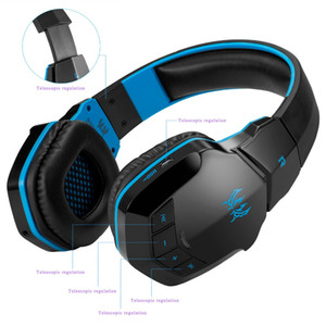 KOTION EACH B3505 Wireless Bluetooth 4. 1 Stereo Gaming Kopfhörer Headset Lautstärkeregler Mikrofon HiFi Musik Headsets Spiel 1PC / LOT