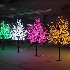 LED Artificiale Blossom Blossom Light Christmas Light 1248pcs Lampadine a LED 2M / 6.5ft Altezza 110 / 220VAC Uso antincendio antipioggia Spedizione gratuita