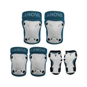 Nouveau Style Réglable Enfants De Protection Gear Set 6 pcs pour Multi-Sport Patin à Glace Rollerblade Vélo Vélo Coude Genou Plam Pads Protecteur