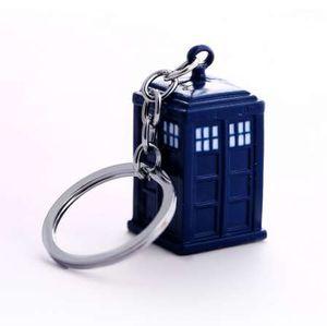 Доктор, Кто брелок ТАРДИС брелоки для ключей для подарка Chaveiro брелок автомобиля ювелирные изделия фильм брелок сувенир YS11116