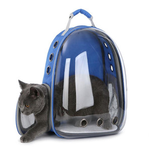 Uzay Kapsül Şeffaflık Pet Çanta Açık Seyahat Taşınabilir Kedi Çanta Çok Renkli Konfor Nefes Giymek Dayanıklı Evcil Malzemeleri 63lp ff