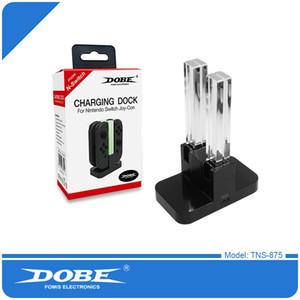 Dobe 4 в 1 зарядной станции для зарядки док-станции для Nintend Switch NS зарядная подставка Светодиодное зарядное устройство для зарядного устройства для 4 контроллеров Joy-Con 30 шт. / Лот