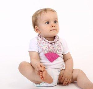 نوعية جيدة للماء سيليكون باندانا المرايل الوليد القطن تجشؤ الملابس الرضع المرايل المولي اللعاب منشفة شحن مجاني