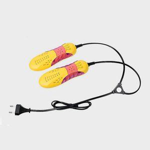 Novo Design de Carro de Corrida Voilet Luz Sapato Secador De Perna Protetor de Desodorante Odor Dehumidify Dispositivo Sapatos Secador Aquecedor 10 pcs Frete Grátis