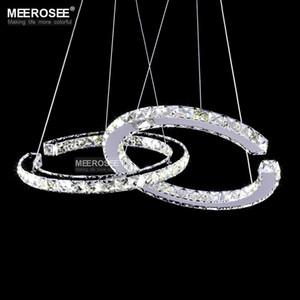 Modern LED Diamond Pendant Light Fixture LED Crystal Lighting Lustres Hanging Drop abajur Lamp For Dining Room