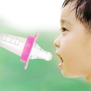 New Baby PP Медицина Feeder Kid Подача воды соску для кормления младенцев Медицина Устройство Патрубок с Шкале