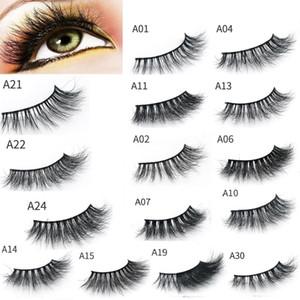3D Mink Eyelashes Eyelashes Messy Eye lash Extension Sexy Eyelash Full Strip Eye Lashes 10 set