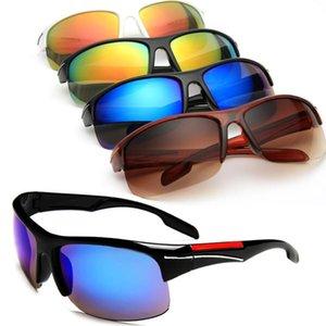 2018 nouvelles lunettes de soleil de sport d'équitation pour les hommes et les femmes 01N-63 lunettes de soleil Dazzle Color Goggles lunettes de soleil de mode 4 couleurs