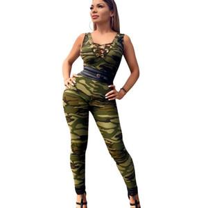 Fashion Women Jumpsuit Summer 2018 CHEAPEST Body Femme Long Bodysuit Overalls F0601 Strip Print Deep V Neck Hollow Out