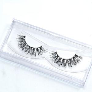 Premium Silk eyelash,OEM&ODM,3d faux mink strip fake eyelashes own brand packaging box false eye lashes extension