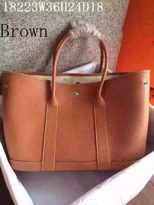 Ledertaschen Frauen Casual Mode Taschen Weiche Leder 36 cm breite super große Volumen Innentasche für Mobile etc