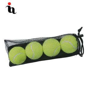 IANONI 4 Pack Tennis Balls Training Yellow Tennis Balls For Lessons Practice,Playing With Pets Accessories Carrying Bag