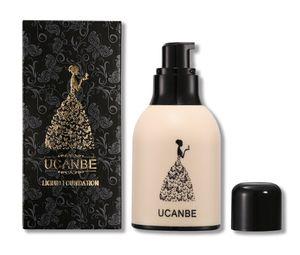Marca Botella de leche Base para la cara Base líquida Maquillaje Cobertura completa Corrector Primer Crema BB Resistente al agua Duradero